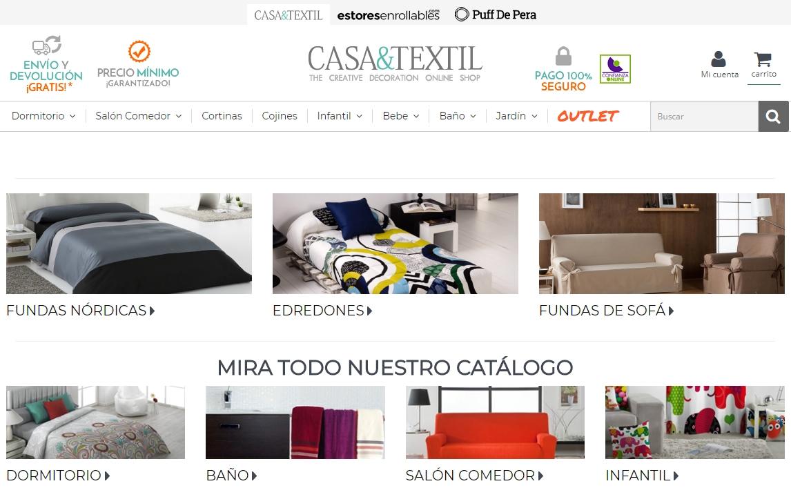 Cojines Tienda Casa.Mi Opinion Sobre Casa Y Textil Es Fiable Muygeek
